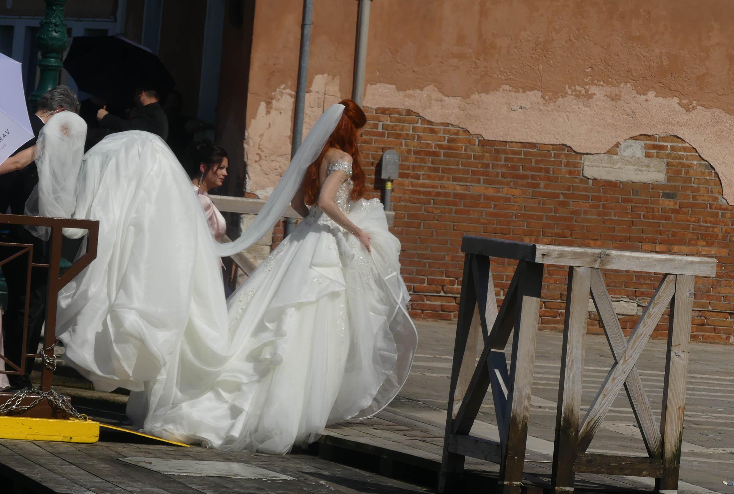 Hochzeit barbara meier kleid