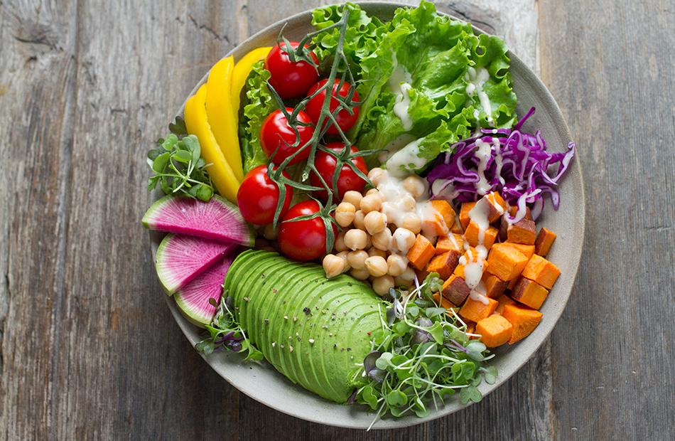 2000 Kalorien Diät reich an Eiweiß