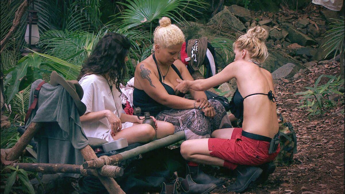 jungle camp nackt