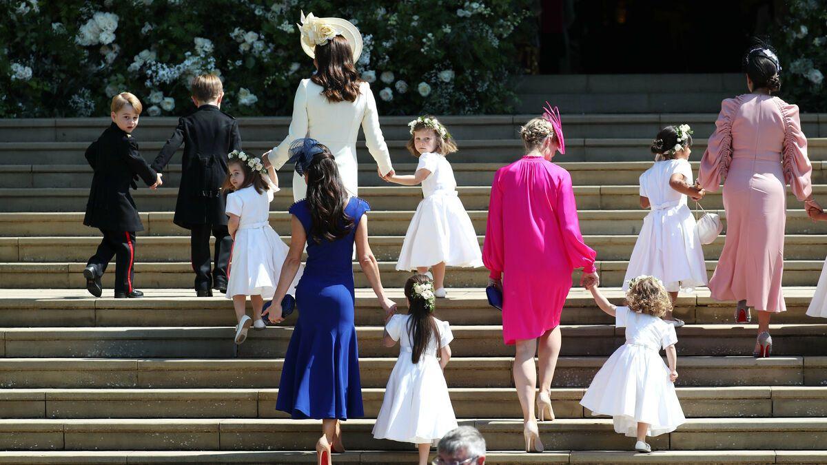 Prinz George Prinzessin Charlotte Verzaubern Als Blumenkinder