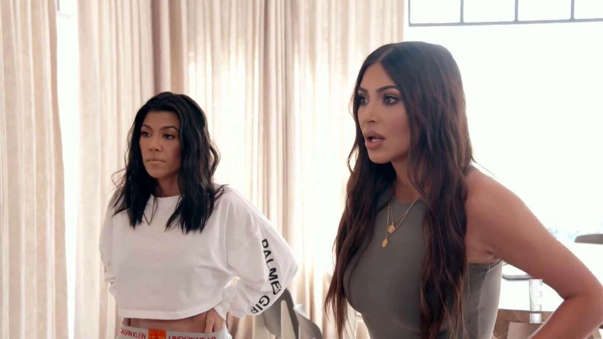 Kourtney & Kim Kardashian: Prügelattacke im TV